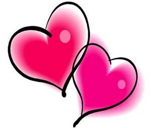 Two hearts filled with love HAPPY VALENTINES XXXXXXXXXXX